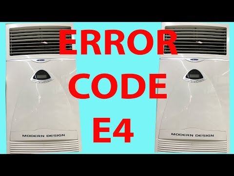 E4 Error || AIR CONDITIONER ERROR !!! E2,E3,E4,E7 [DRDTecnical]