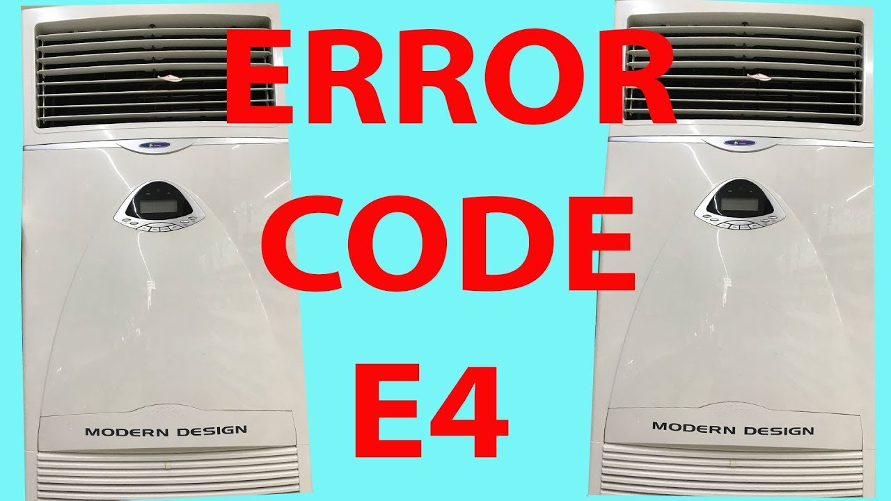 E4 Error || AIR CONDITIONER ERROR !!! E2,E3,E4,E7 [Dinesh Gautam]