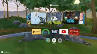 Lenovo Mirage solo Gameplay- Hunters gate(6-dof)