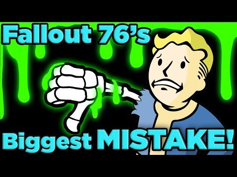 The BIGGEST Mistake of Fallout 76 EXPLAINED! | The SCIENCE!... of Fallout 76 thumbnail