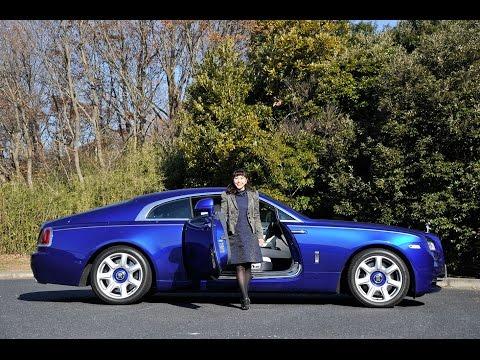 Rolls-Royce レイス 雲の上を走るってこんな感じかな!? TestDrive
