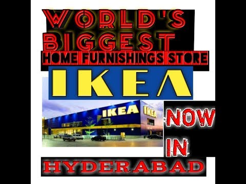 IKEA(world leader in home furnishing) now in Hyderabad