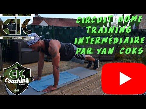 Home Training Full Body INTERMEDIAIRE #01 Par Yan COKS