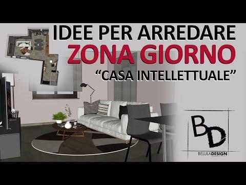Idee Arredo Zona Giorno.Come Arredare Una Zona Giorno Moderna Belula Design Youtube