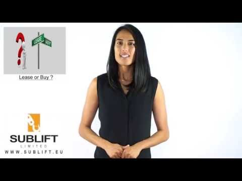 Leasing Lifting Equipment - Sublift - Ireland and United Kingdom