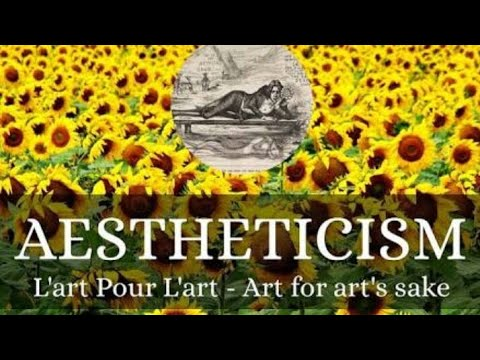 Aestheticism by Dr Mukesh Kumar Pareek COSMOS Institute of English Language and Literature