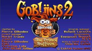 Gobliins 2: The Prince Buffoon (PC/DOS) Demo, 1993 Coktel Vision