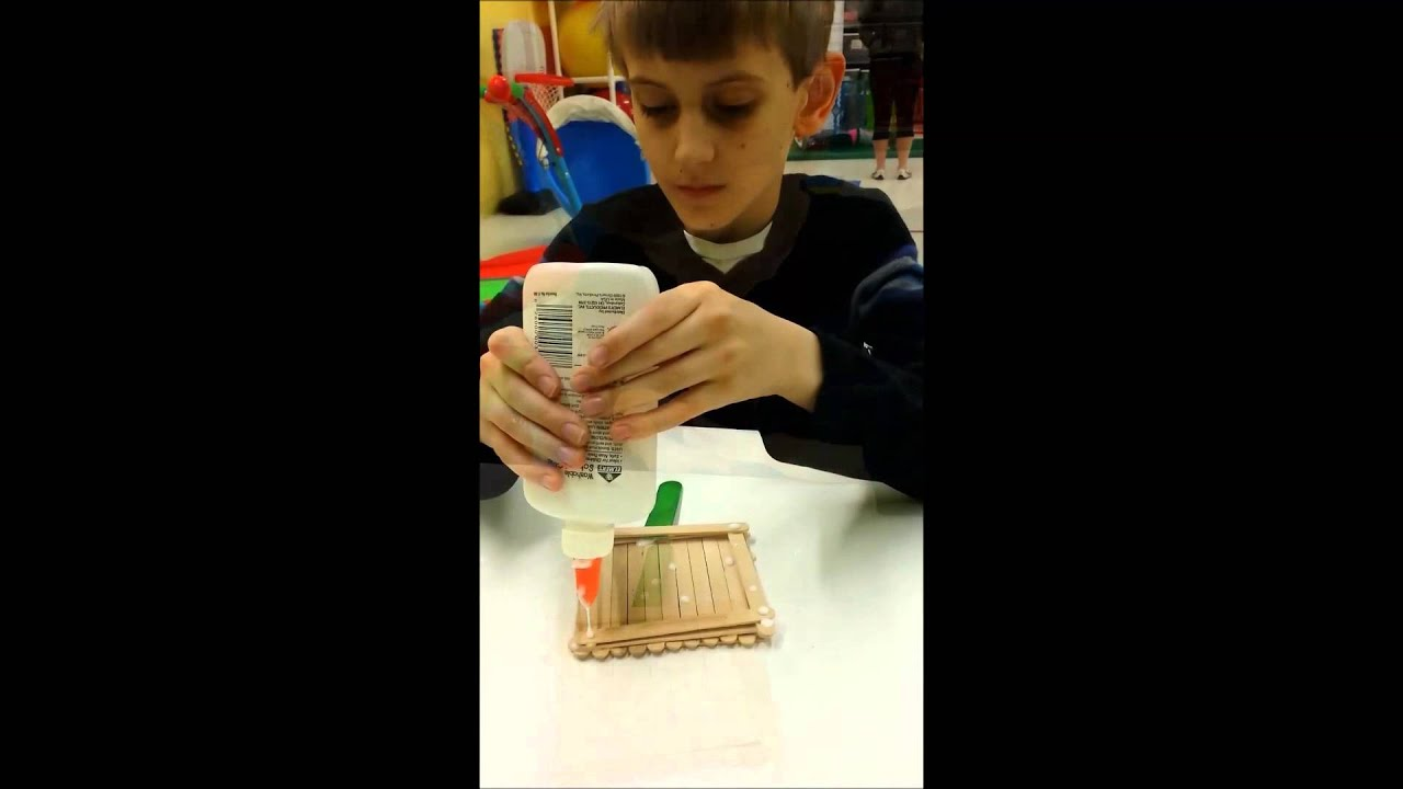 how to make a bird feeder out of popsicle sticks
