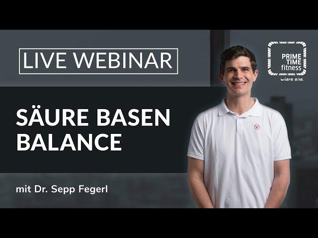 PRIME TIME Webinar: Säure-Basen-Balance