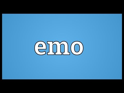 Emo Meaning