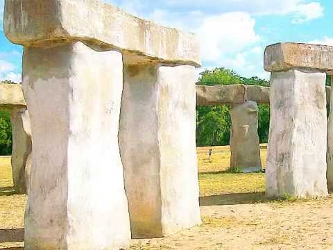 Texas Stonehenge 2 Hill Country II Magical Mystery Location Roadside Attraction Maniac Cult
