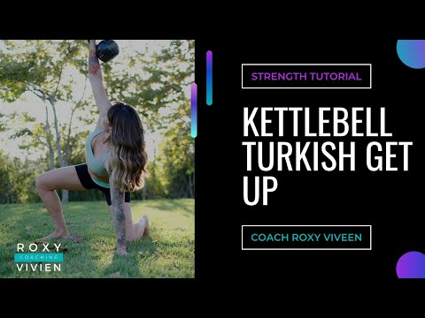 Kettlebell Turkish Get Up Tutorial Created by Function 5 Fitness