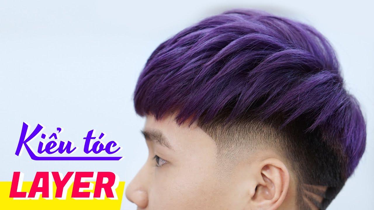 Kiểu tóc LAYER – Cắt tóc nam đẹp 2020 – Chính Barber