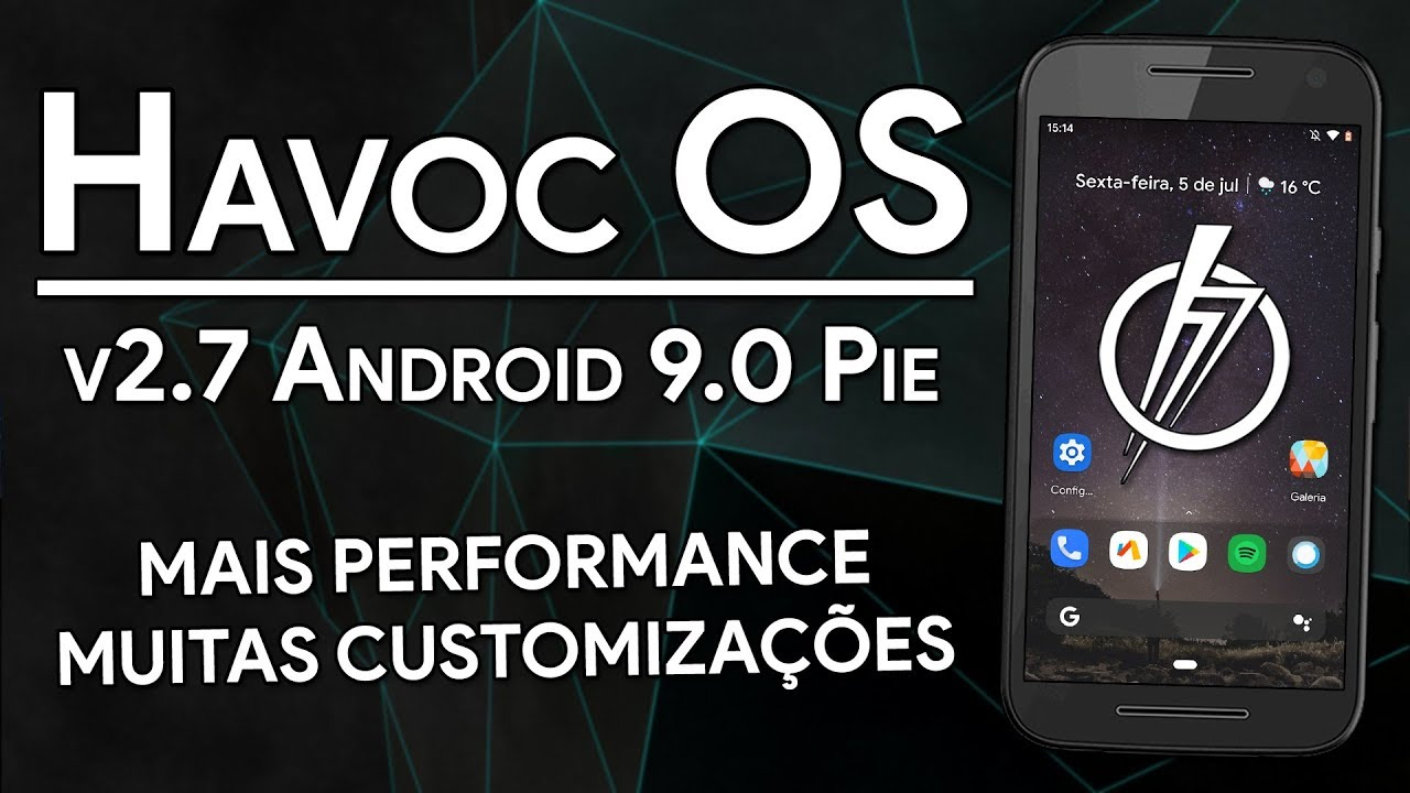 HAVOC OS 2 7 | Android 9 0 Pie | UPDATED WITH MORE PERFORMANCE AND  CUSTOMIZATIONS