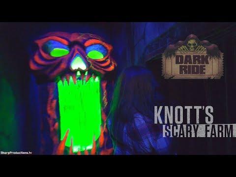 Dark Ride (Full Maze) Knott's Scary Farm 2018