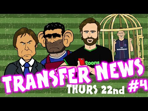 TRANSFER NEWS #4! (Verratti to Barca? Sandro to Chelsea? Costa to Atleti)