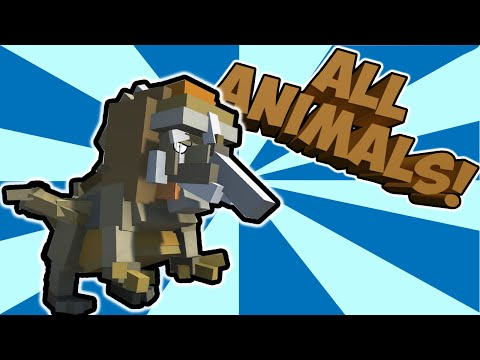 HYBRID ANIMALS CREATIONS! Mixing all the animals! (Let's Play Hybrid