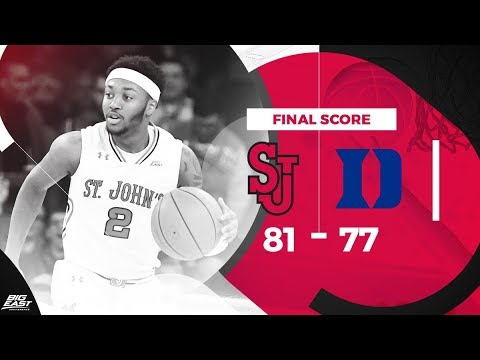 #BIGEASThoops Highlights: St. John's vs. #4 Duke