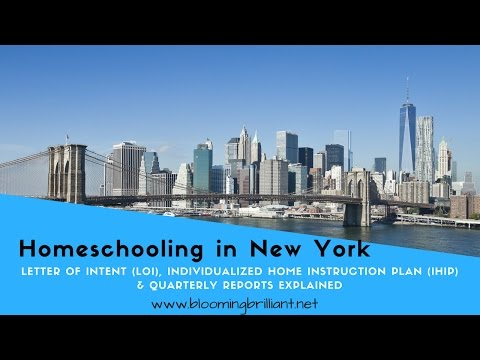 Homeschooling in New York: Figuring out the Paper Work