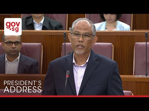 Excerpts from Minister Masagos Zulkifli's response to the President's Address 2018