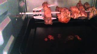 Обзор мини печи. Домашний шашлык