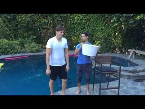 Ashton Kutcher ICE Bucket Challenge Jon Cryer