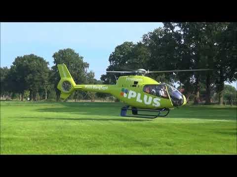 Helicopter rondvluchten Plusmarkt