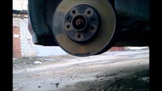 видео Замена тормозных дисков Опель Астра Н / Зафира Б