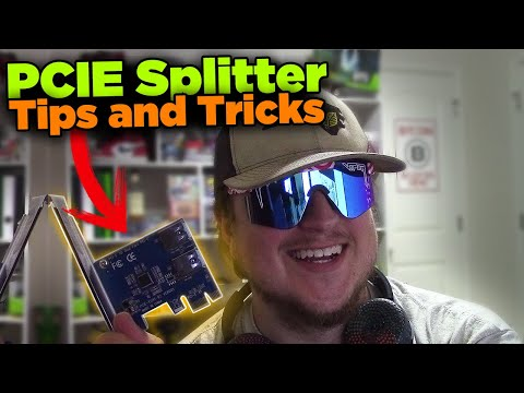 PCIE Splitter 1 To 4 GPU Mining
