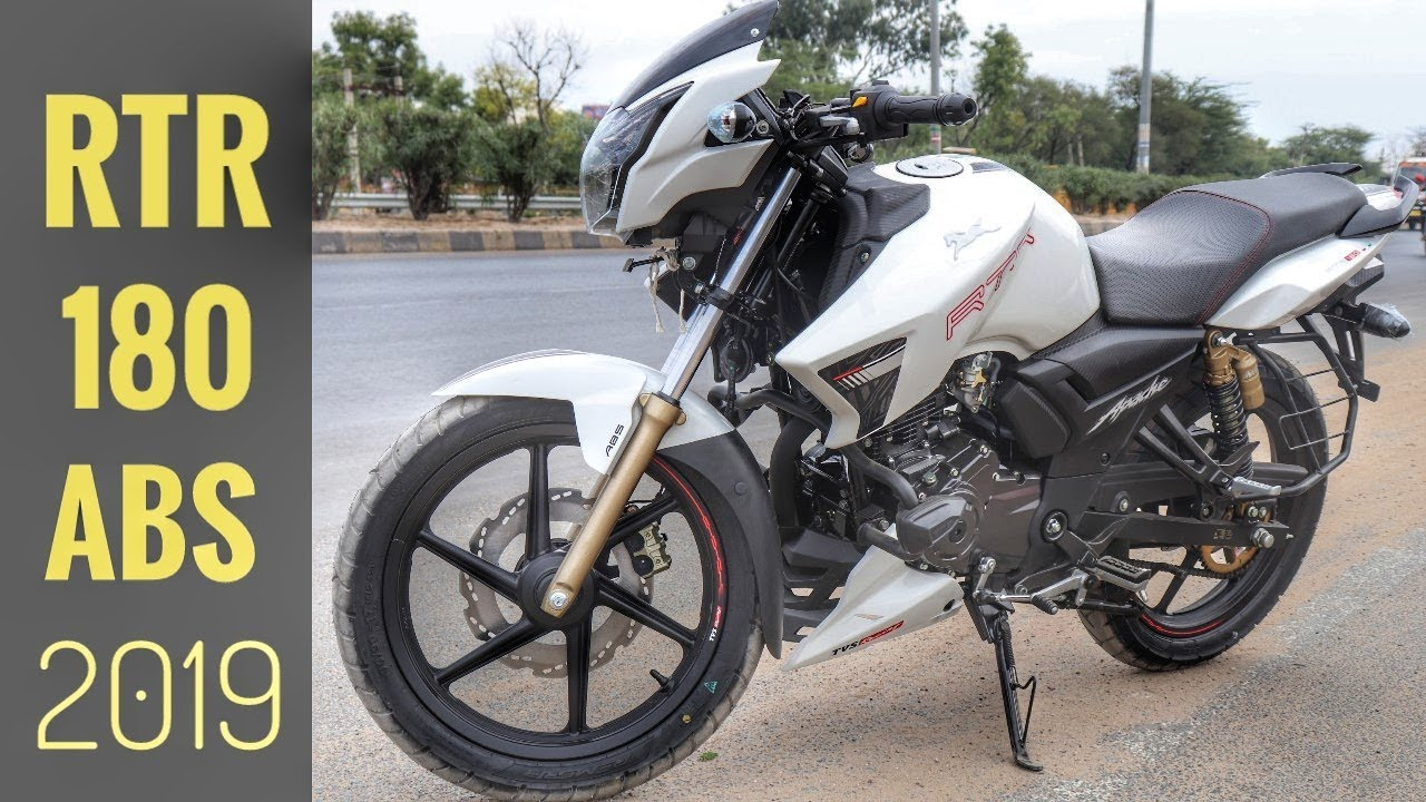 Apache RTR 180 ABS 2019 | ABS Test Review | On road Price | Special  Edition!!!