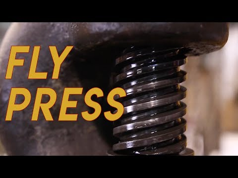 Ever Seen A Fly Press?