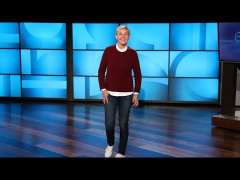 Ellen Celebrates Valentine's Day with Cute Animals, Funny Kids, and a 'Fifty Shades Freed' Cameo