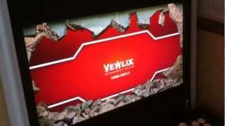 Custom Vewlix Arcade Cabinet Updated Gameex Intro (wall Explode Effect)