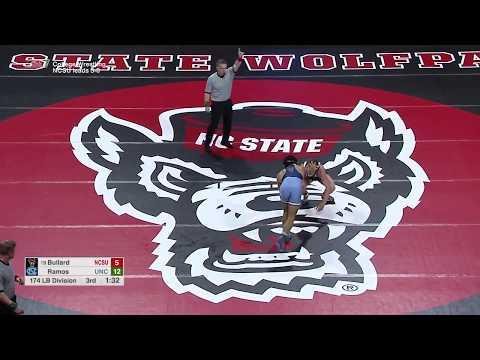 2018.02.09 #24 North Carolina Tar Heels at #6 NC State Wolfpack Wrestling
