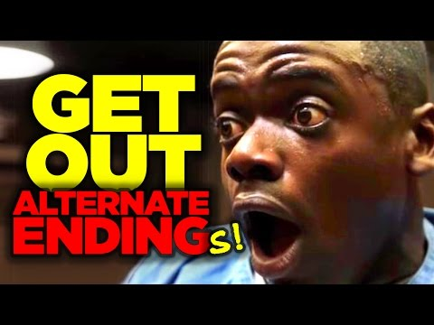GET OUT Alternate Ending(s) Revealed!