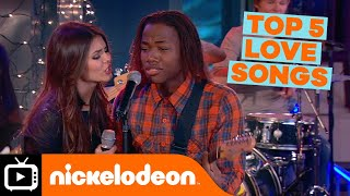 Victorious | Top 5 Victorious Love Songs | Nickelodeon UK