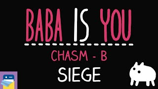 Baba Is You: Siege - Chasm Level B Walkthrough (by Arvi Teikari / Hempuli)