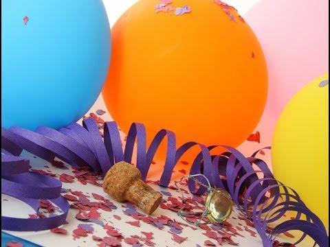 C mo montar una fiesta sorpresa youtube - Como hacer una fiesta de cumpleanos ...