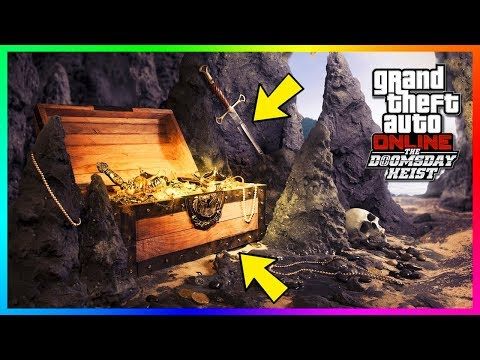GTA Online The Doomsday Heist DLC SECRET RARE Treasure Hunt - Locations Found, NEW Clues & MORE!