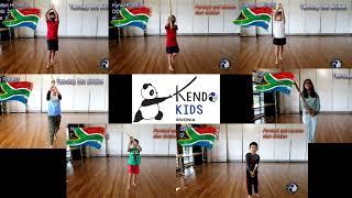 RKC Kendo Kids Take Part in Online Suburi Challenge