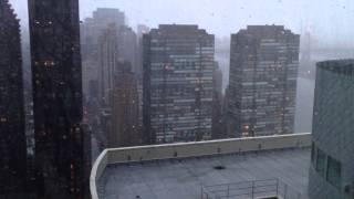 ощущение урагана Сэнди на 30 этаже небоскреба