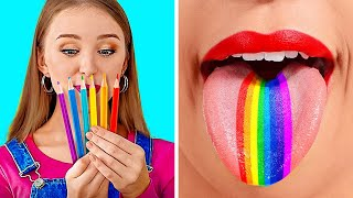 BACK TO SCHOOL! || Funny DIY School Supply Hacks by 123 Go! Genius