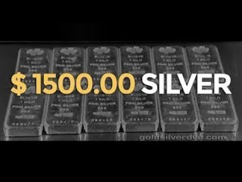$ 1500.00 SILVER - Mike Maloney on Gold & Silver Bullion Investing