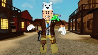 ROBLOX: I WAS SENT TO A MISSION IN THE WILD WEST!! (Time Travel Adventures)-Play Old man