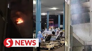 Fire breaks out at Kuala Lumpur Hospital, no casualties