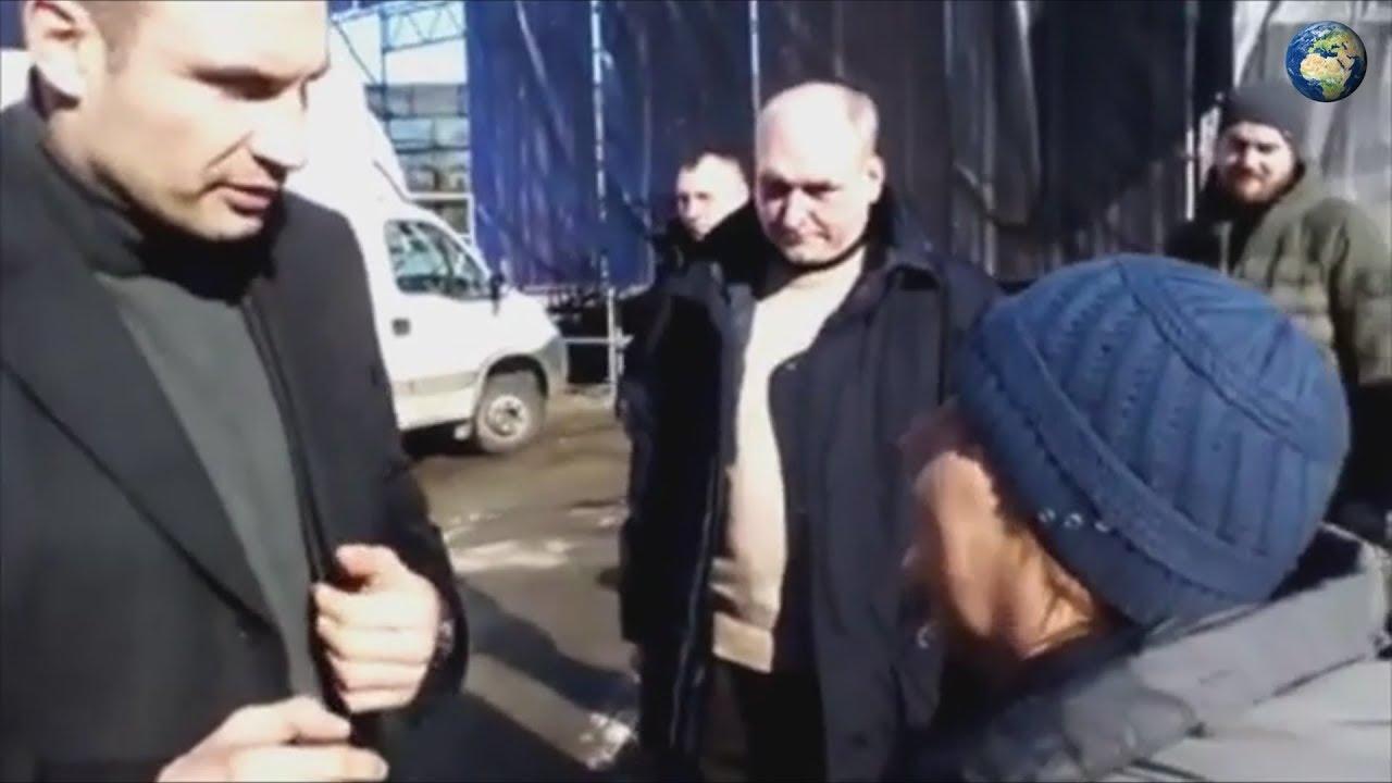 Я наполовину русский: Кличко ответил украинке