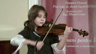 Malina Ciobanu, vioara - Grigoras Dinicu, Hora Staccato.MP4
