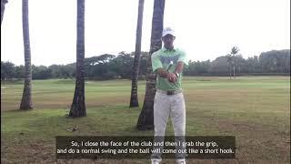 Casa de Campo Golf Tips - Manuel Relancio: A low hook