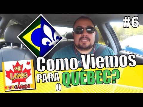 Porque, e como viemos morar no Québec! | OS LABAD'S NO CANADA