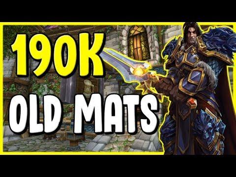 Making 190k In One Week In WoW BFA 8.2.5 - Gold Making, Gold Farming